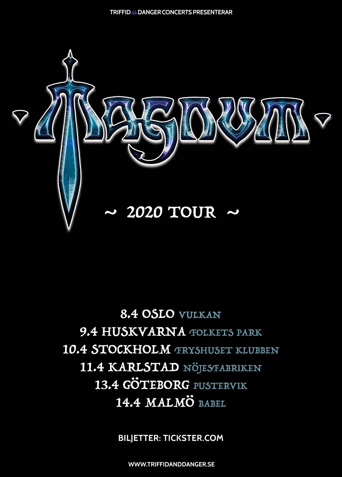 210913 : Magnum (UK) LIVE