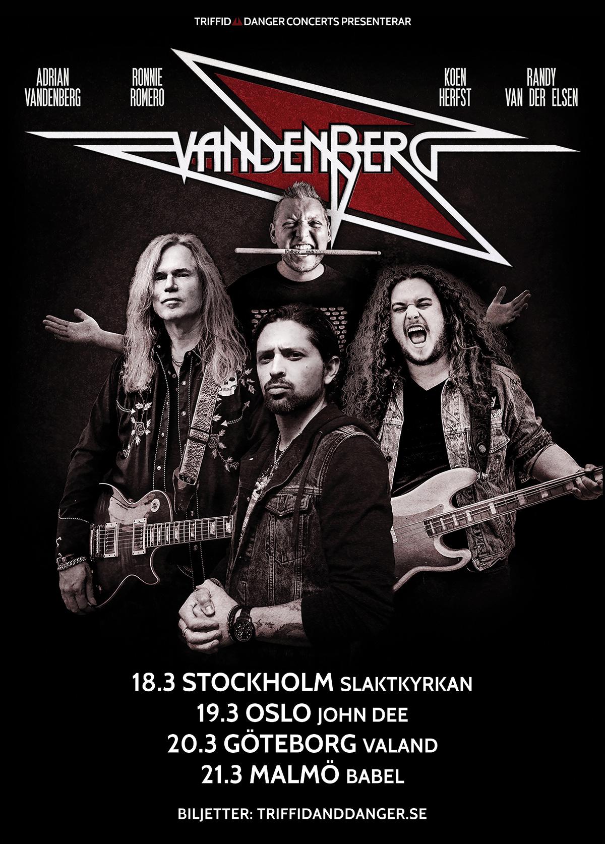 211118 : Vandenberg (NL) LIVE
