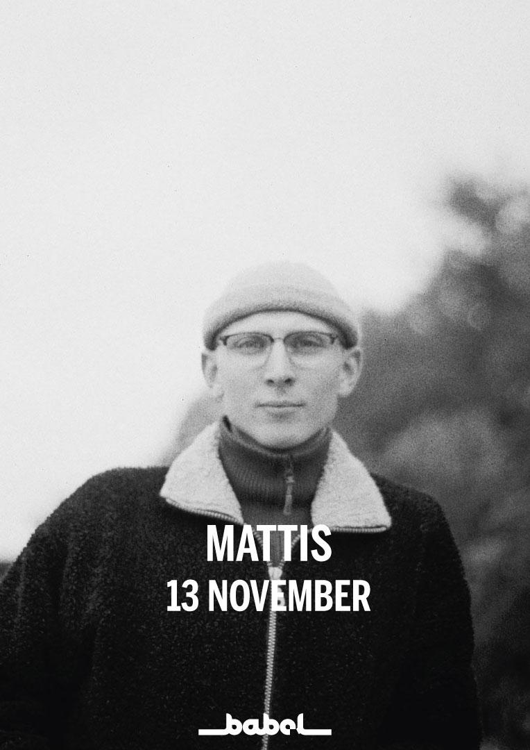211028 : Mattis (SE) LIVE – NYTT DATUM