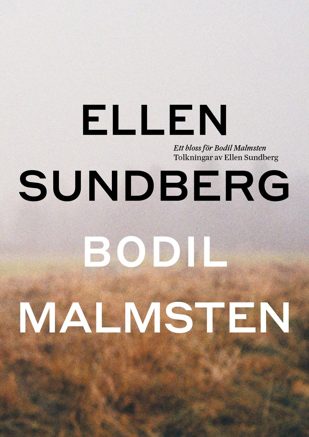 210923 : Ett bloss för Bodil Malmsten – Tolkningar av Ellen Sundberg