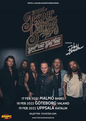 220217 : Jesper Binzer (DK) LIVE – Support: Hot Breath (SE)