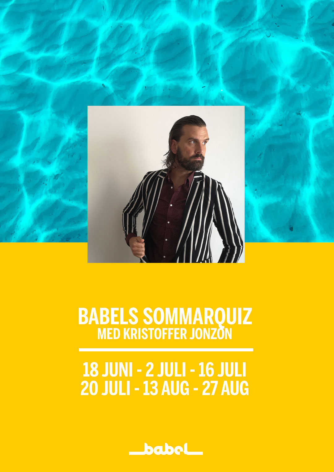210730 : Babels Sommarquiz med Kristoffer Jonzon