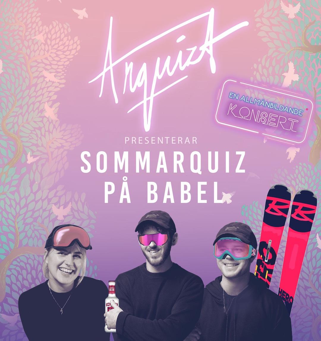 210728 : Arquizts Sommarquiz – Ett livemusikquiz