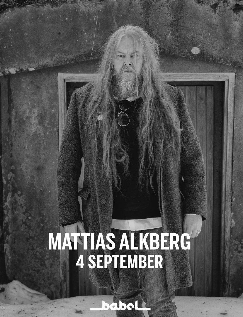 210904 : Mattias Alkberg (SE) LIVE – NYTT DATUM