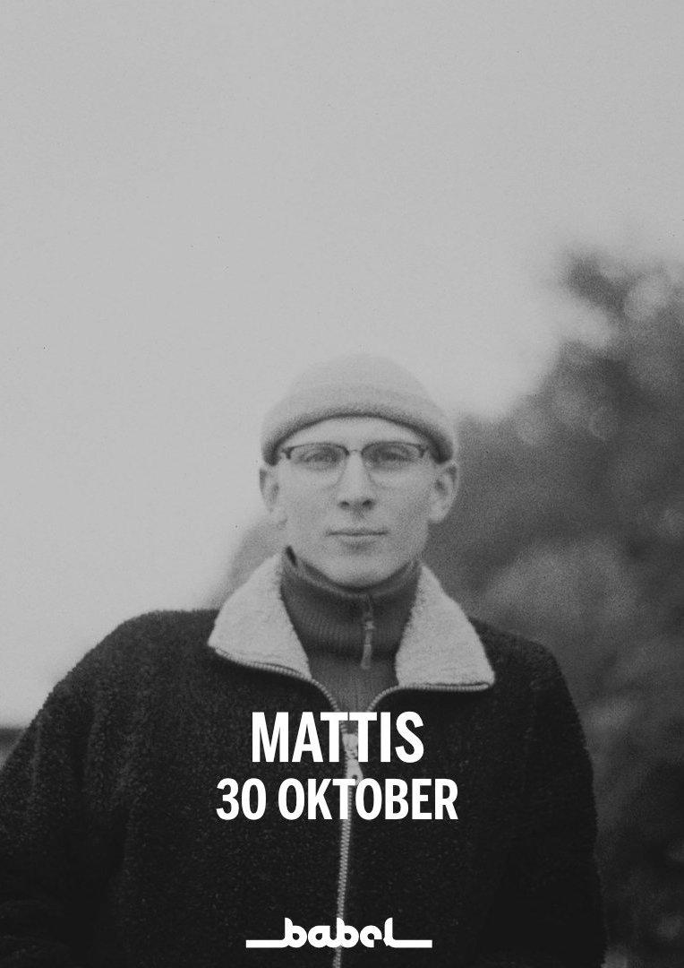 211030 : Mattis (SE) LIVE – NYTT DATUM