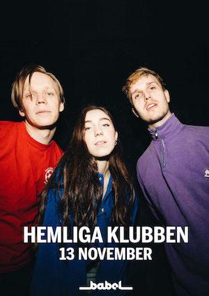 211113 : Din Näst Bästa Kompis pres. Hemliga Klubben (SE) LIVE